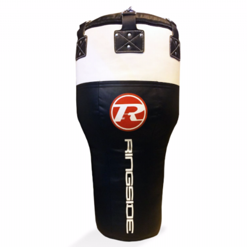 Ringside Synthetic Leather Angle Punchbag Black/White